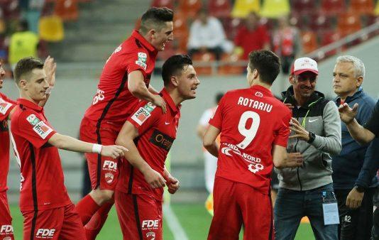 Dinamo vs CFR liga 1 meciul steaua
