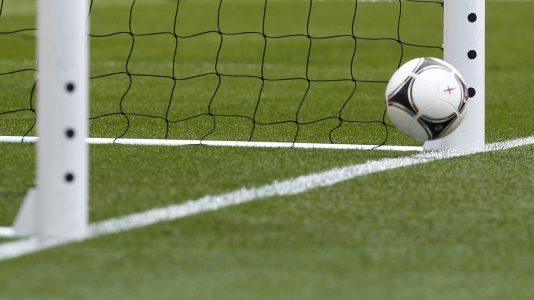 Goal-line technology is tested during England's International friendly football match against Belgium at Wembley Stadium in London, England on June 2, 2012. AFP PHOTO/IAN KINGTON NOT FOR ADVERTISING USE/RESTRICTED TO EDITORIAL USE        (Photo credit should read IAN KINGTON/AFP/GettyImages)