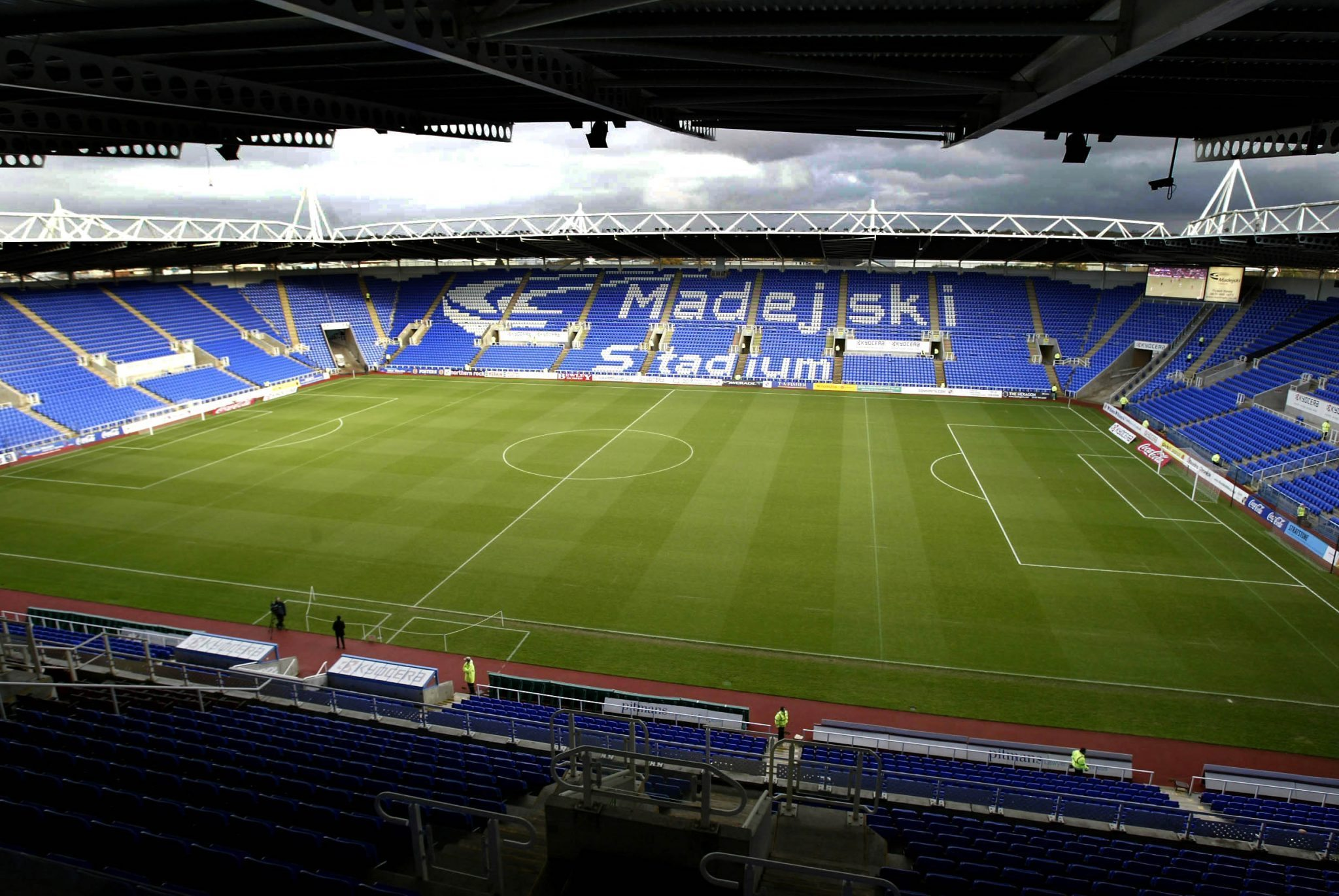 Picture By Jason Dawson. 3/12/2005: Madejski Stadium.