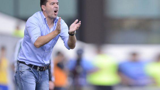 Meciul de fotbal Petrolul - Vitesse, scor 1-1, din turul trei preliminar al Ligii Europa (Europa League), desfasurat pe stadionul Ilie Oana, in Ploiesti. 01.08.2013