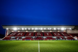 General View of an empty Dolman stand - Mandatory byline: Rogan Thomson/JMP - 30/01/2016 - FOOTBALL - Ashton Gate Stadium - Bristol, England - Bristol City v Birmingham City - Sky Bet Championship.