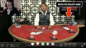 dealer triseaza blackjack