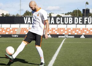 Comunidad Valenciana. Paterna 16  de Enero de 2017 . Presentaci—n de Zaza como nuevo jugador del Valencia C.F.  Fotografia de: Damian Torres
