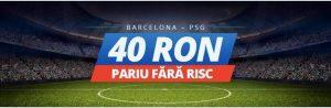 40 barcelona pariu fara risc