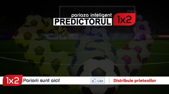 PREDICTORUL1X2: Ai cele 12 pronosticuri ale lui Doru Craciun! Participa si tu GRATUIT la concurs!