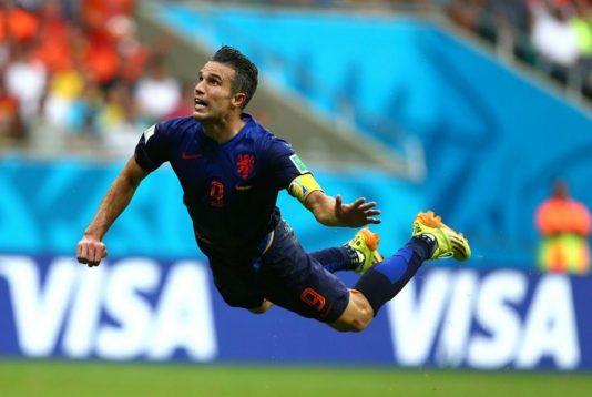 fotbal van persie