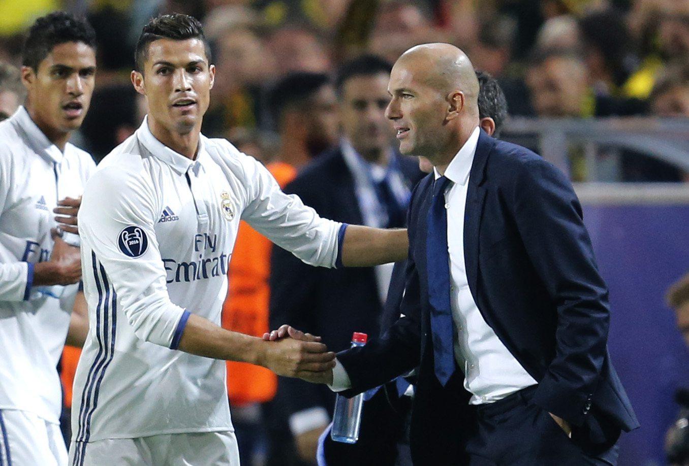 Cristiano Ronaldo,  Zinedine Zidane