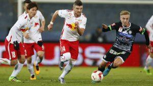FUSSBALL: …FB-SAMSUNG-CUP VIERTELFINALE: SK PUNTIGAMER STURM GRAZ - RED BULL SALZBURG