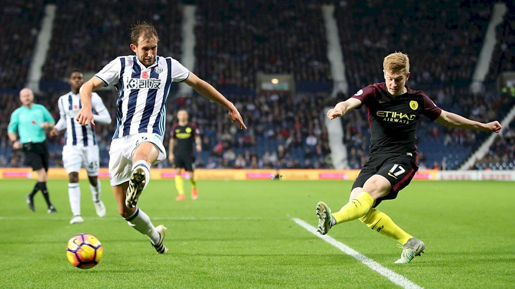 wba man city de bruyne
