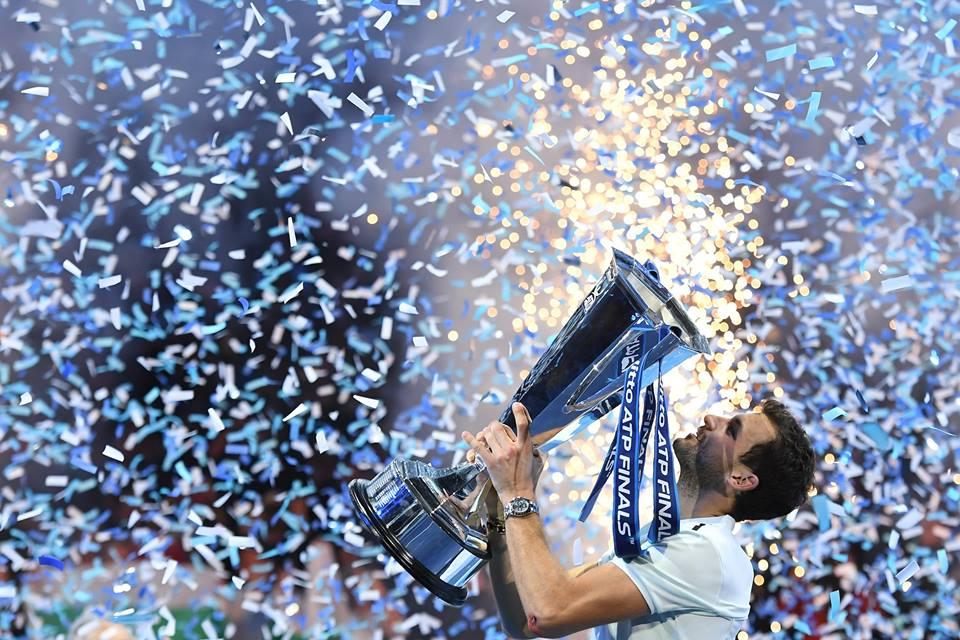 Grigor Dimitrov este campionul campionilor!
