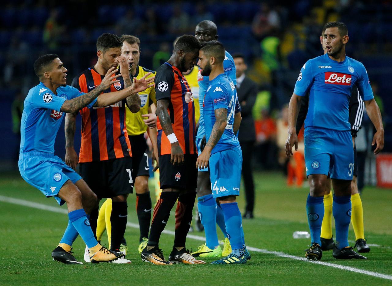 Champions League - Shakhtar Donetsk vs SSC Napoli