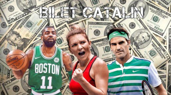 Bilet Catalin: Tenis si baschet pentru triplarea investitiei!