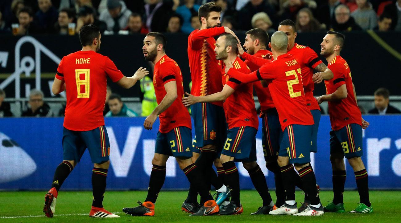 Spania - Iran