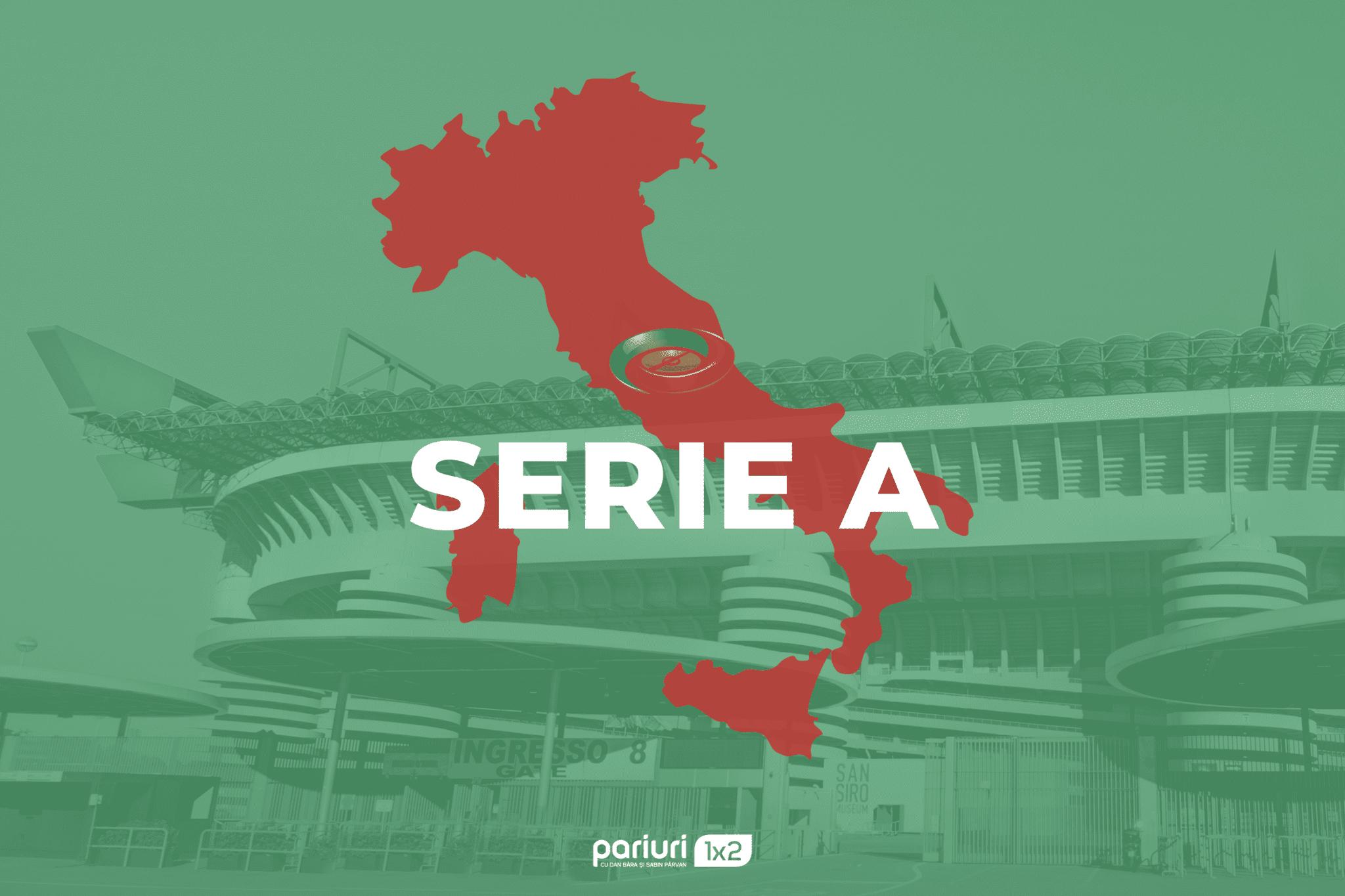Serie A – Runda cu numarul 13, vazuta prin intermediul a 6 pronosticuri. AICI, sugestii pentru meciurile de sambata si duminica!