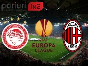 "Olympiakos – AC Milan» ""Diavolii"" se afla cu un picior in ""16""-imi, elenii au nevoie de o minune pentru a rasturna calculele in grupa F | Pariem in COTA 1.88!"