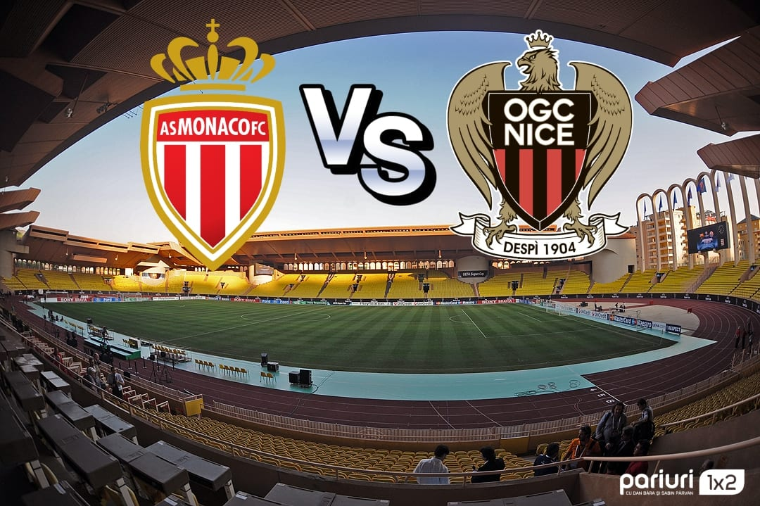Monaco – Nice: Infirmerie plina pentru echipa gazda | Mizam pe o cota de 1.52!