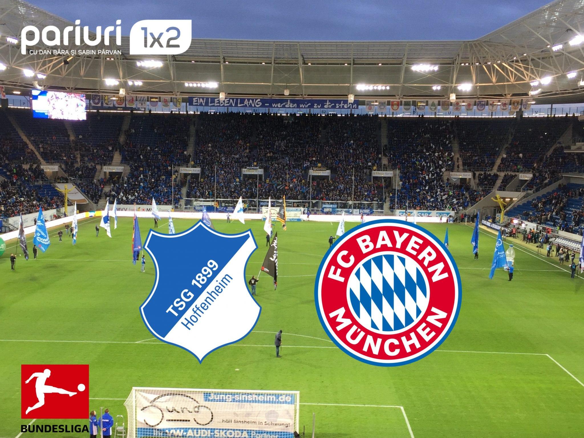 Hoffenheim – Bayern: Bundesliga isi REDESCHIDE portile, cu un SUPER-DUEL! Mizeaza cota 1.90!