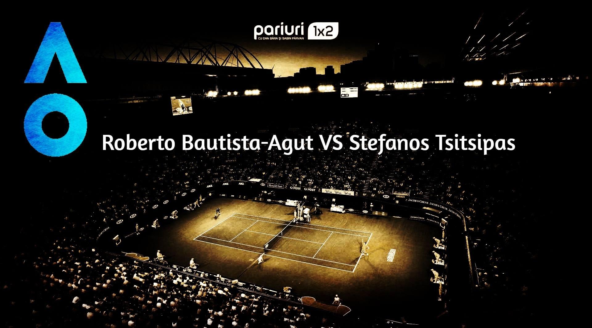 Roberto Bautista-Agut – Stefanos Tsitsipas: UCIGASII de GIGANTI se infrunta pentru un loc in CAREUL de ASI!