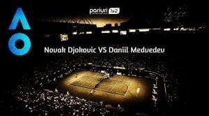 Novak Djokovic – Daniil Medvedev: Adversar in MARE FORMA pentru liderul mondial!