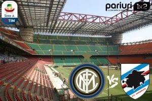 "Inter – Sampdoria» Forma stagnanta pentru ""nerazzurri"", genovezii sunt imprevizibili   Mizam pe goluri in COTA 1.52!"