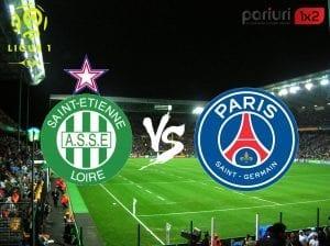 """St. Etienne – PSG» """"Sfintii"""" NU sunt victime sigure contra colosului parizian   Pont in COTA 1.55 pentru derby-ul etapei din Ligue 1!"""