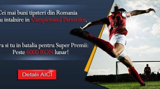 Campionatul Pariorilor 2021 » Locul de adunare al celor mai buni tipsteri din Romania! Intra in cursa pentru premiile lunare de 6000 RON!