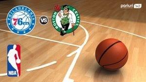 Philadelphia 76ers – Boston Celtics: Oaspetii conduc cu 3-0 in directele din acest sezon | Mizam pe numrul de puncte marcate!