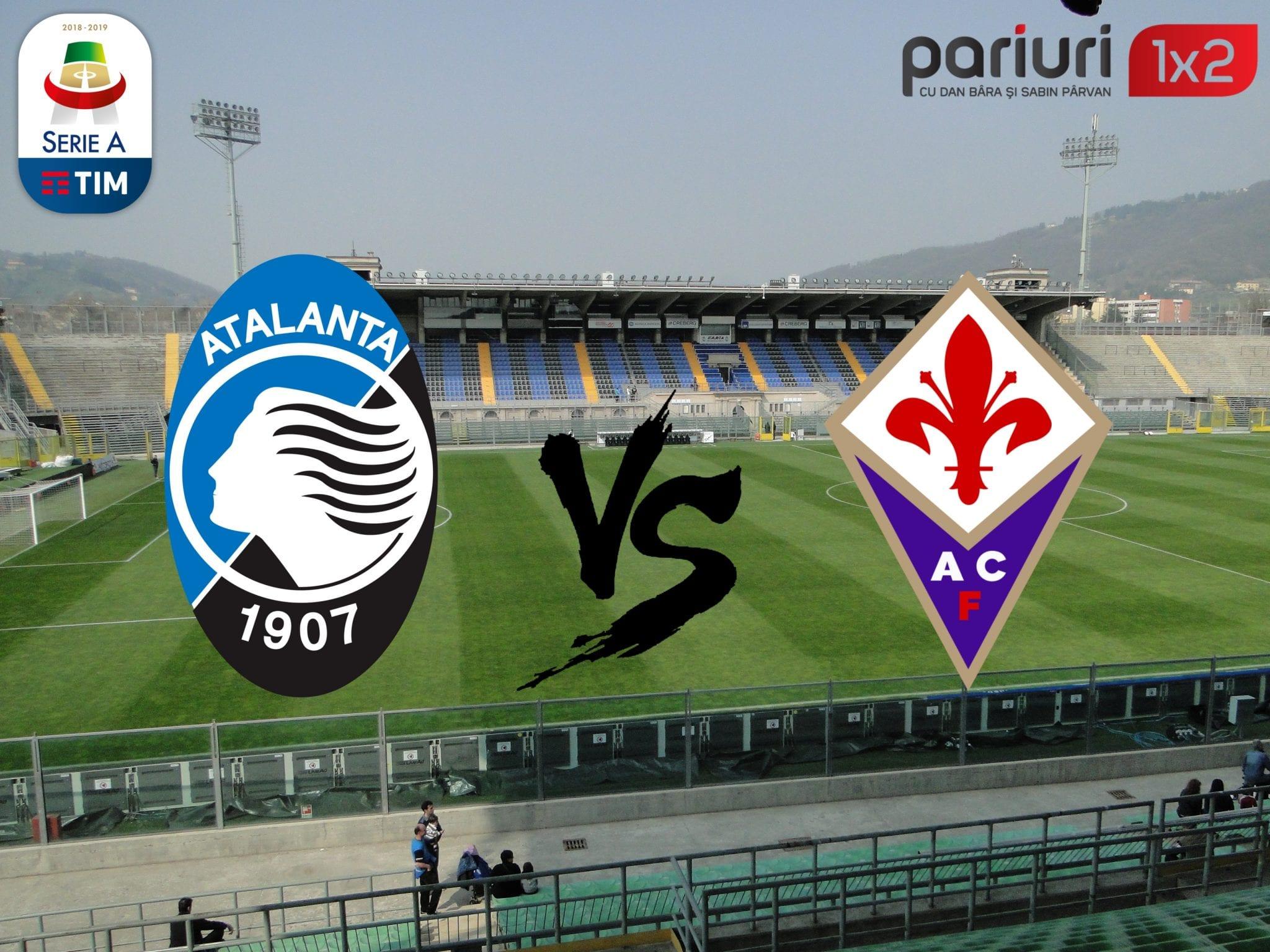 """Atalanta- Fiorentina »» Avem ponturile câștigătoare la duelul de pe """"Stadio Atleti Azzurri d'Italia!"""""""