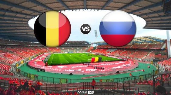 "Belgia – Rusia: ""Dracii rosii"" cauta sa inceapa cu dreptul grupa preliminara pentru EURO 2020!"