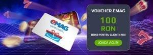 Voucher-ul momentului: Ai 100 de lei gratis pentru cumparaturile tale la EMAG!