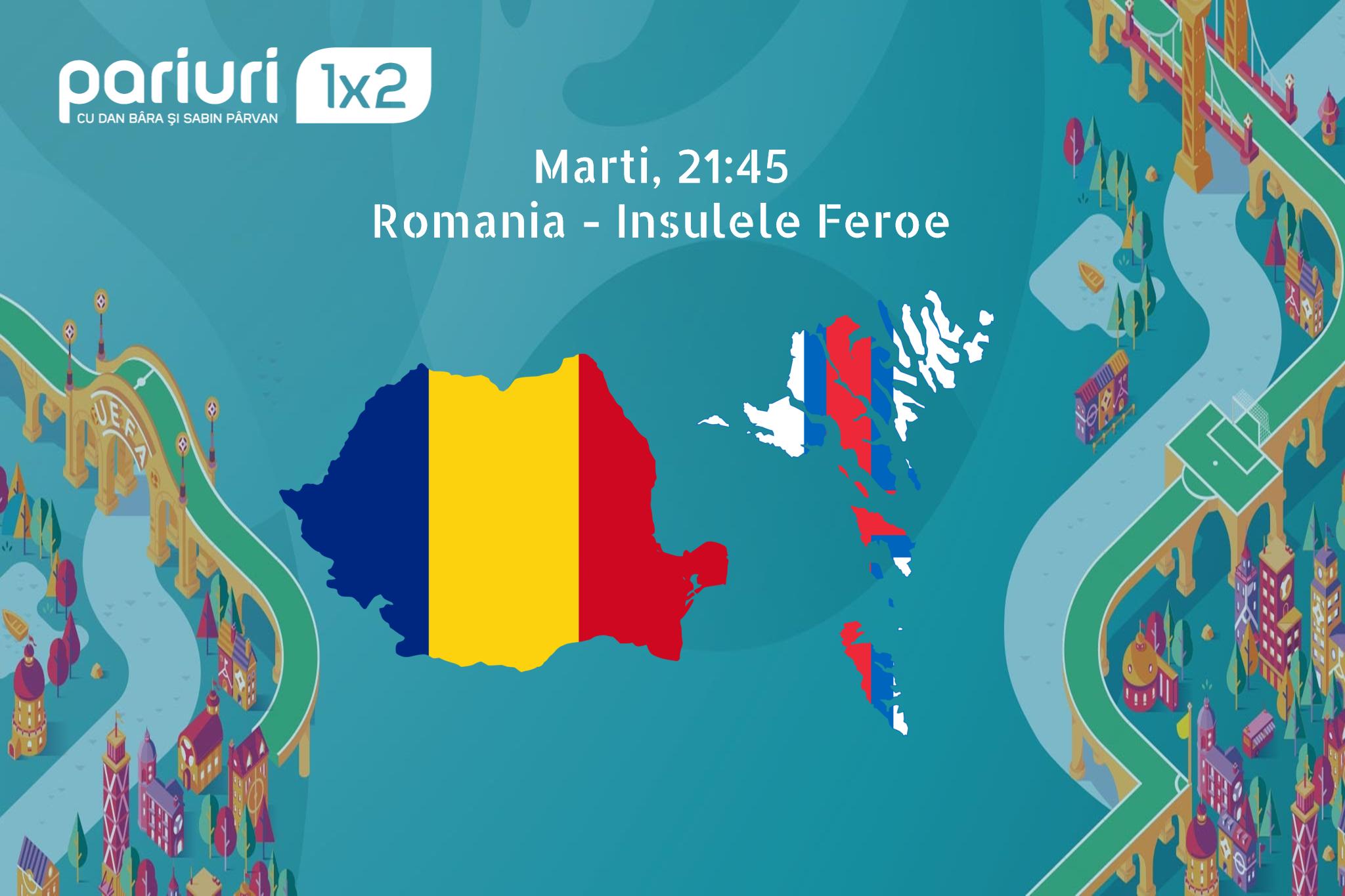 """Romania – Insulele Feroe: """"Tricolorii"""" TREBUIE sa obtina toate punctele puse in joc! Pariuri1x2 v-a pregatit un pont in cota 1.64 cu ajutorul optiunii """"scor corect oricand in meci""""!"""