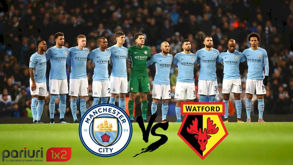 FINALA CUPEI ANGLIEI: Manchester City – Watford | Pariem cu incredere cota 1.72, in partida de pe Wembley Stadium