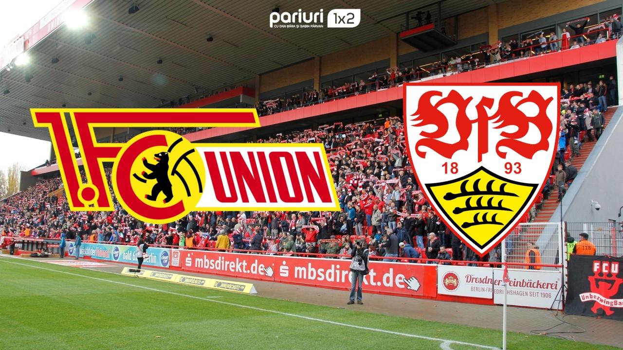 """Union Berlin – Stuttgart: Ai AICI pariul nostru de """"scor corect oricand in meci"""" pentru ultima prestatia """"nemteasca"""" din acest sezon. Mizam pe o cota de 1.80!"""