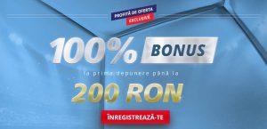 Oferta Exclusiva: 200 lei BONUS la Sportingbet!