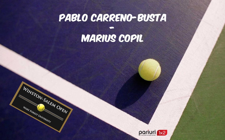 Carreno-Busta – Copil: Al 2-lea duel direct in 10 zile!
