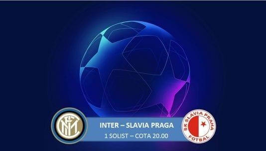 Inter - Slavia Praga, pknt in cota 20