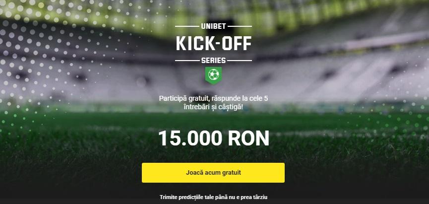 Fotbal concurs Unibet