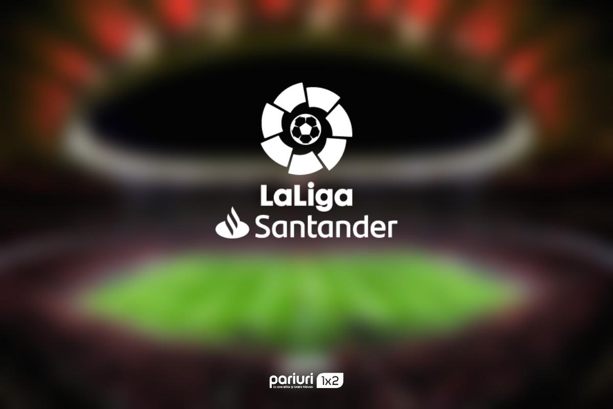 Ponturi La Liga: Cote de top pentru partidele de duminica!