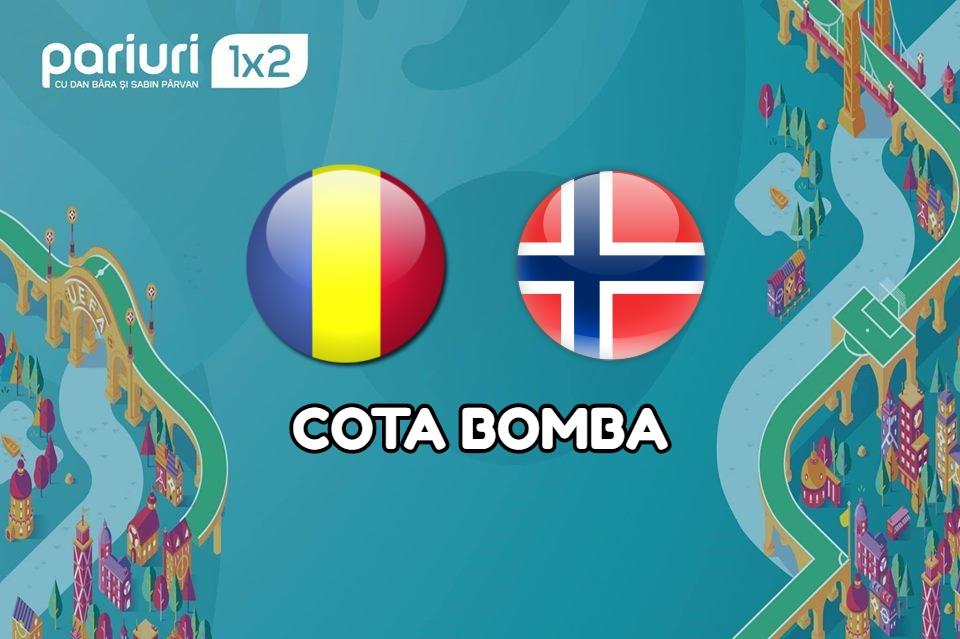 Romania – Norvegia: Goluri si o cota BOMBA!