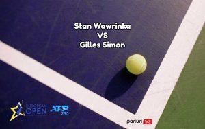 "Wawrinka – Simon: Forta lui ""Stanimal"" poate face diferenta!"