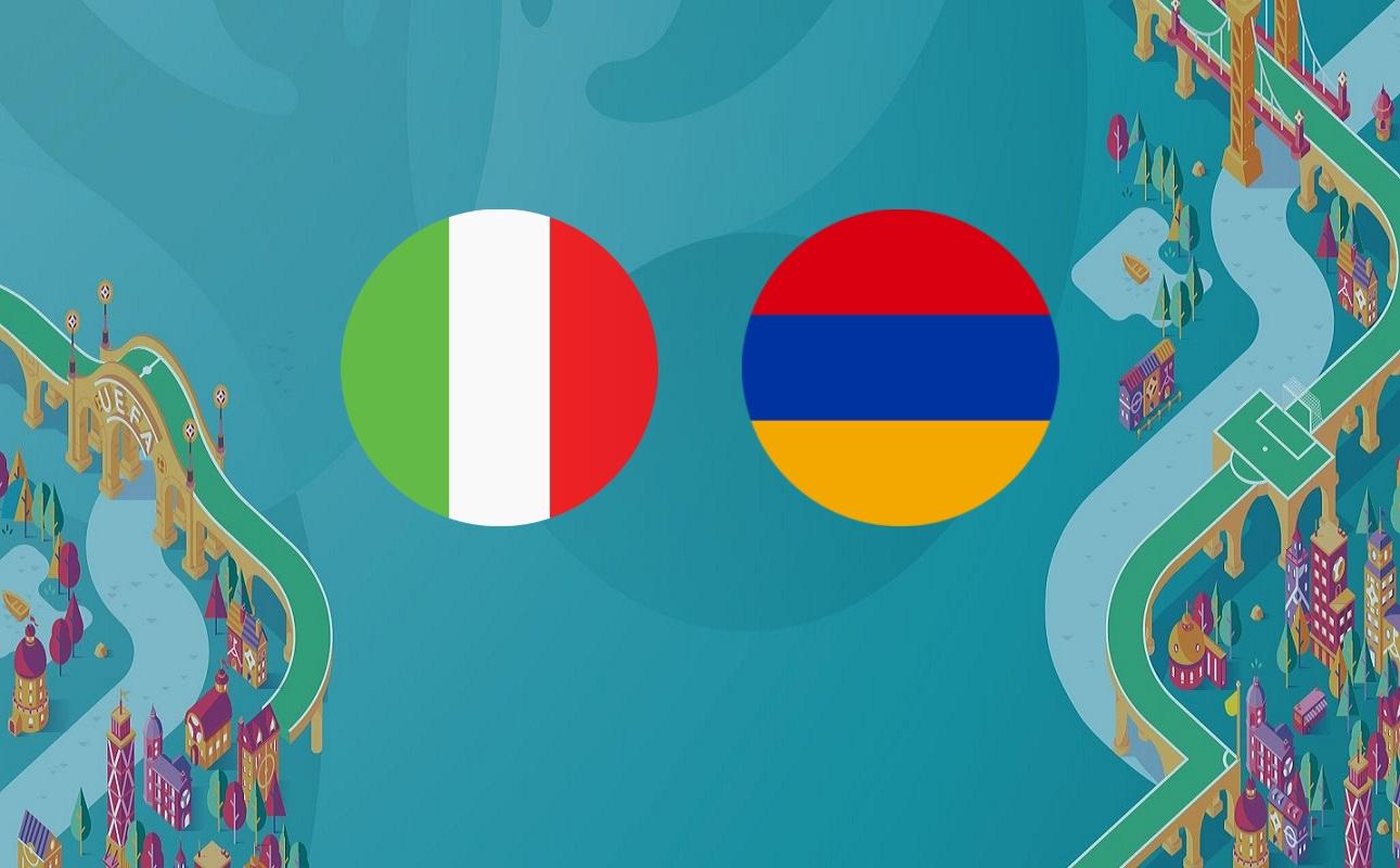 Italia – Armenia: Lipsa mizei poate afecta spectacolul!