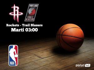 "Rockets – Trail Blazers: ""The Beard"" este pe pilot automat!"