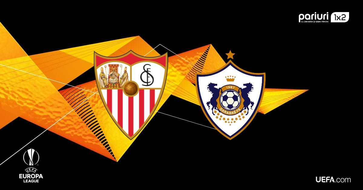Sevilla – Qarabag: Oaspetii lupta pentru calificare!