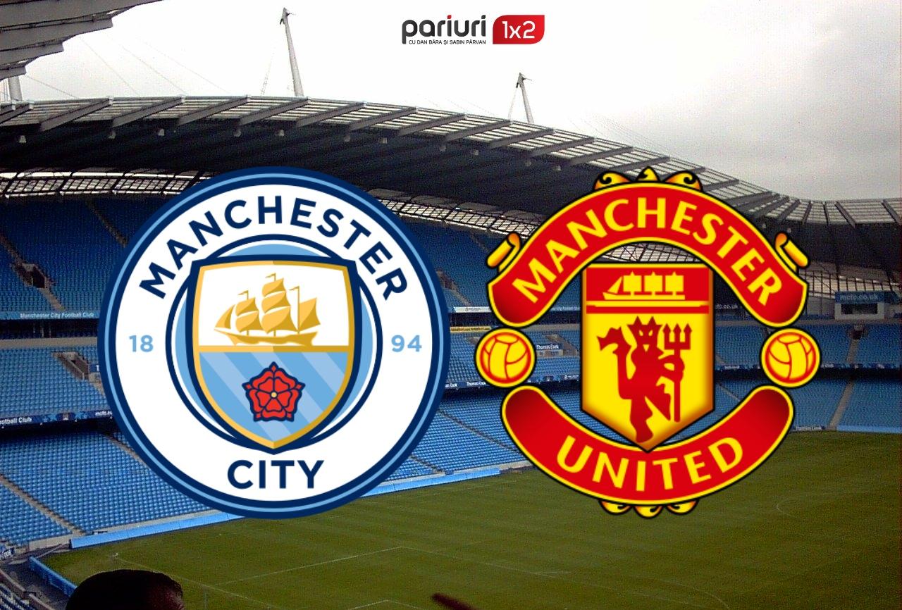 "Derby in Premier League: Manchester City – Manchester United   Cota 1.50 pentru un pariu pe goluri! ""Cetatenii"", clar superiori ""diavolilor"""