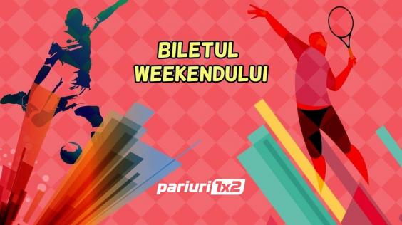 """Biletul weekend-ului Pariuri1x2 este LIVRAT pentru un final """"verde"""" de saptamana! Vezi """"combo-ul"""" nostru in cota 5.39!"""