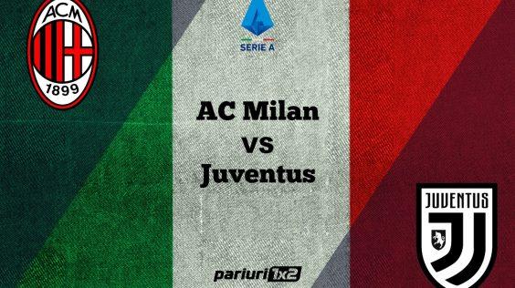 Ponturi fotbal online » AC Milan – Juventus: Derby-ul rundei din Serie A, vazut prin intermediul ponturilor in cote de 1.75 si 2.00!