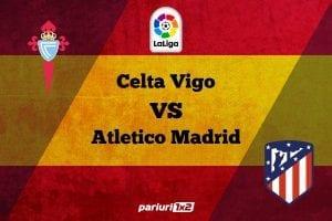 Pariuri fotbal » Celta Vigo – Atletico: Obiective diferite pentru cele doua formatii!