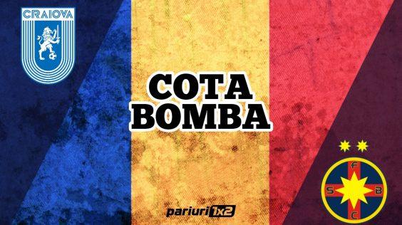 Pariuri fotbal » Craiova – FCSB: Mizam pe o cota BOMBA!