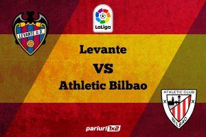 Pariuri fotbal » Levante – Bilbao: Oaspetii inca spera la un loc european!
