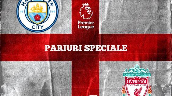 Ponturi fotbal » Manchester City – Liverpool: Aici ai cele mai tari 3 pariuri speciale!